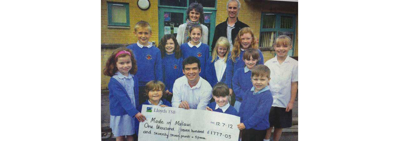Langwathby School Raise £1777.05 for Made in Malawi