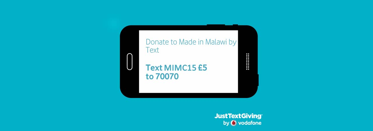 Just Text Giving - Donate to Made in Malawi by Text